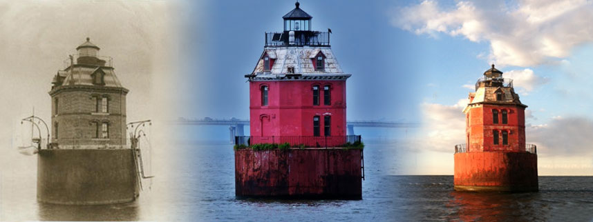 Sandy Point Shoal Lighthouse Timeline